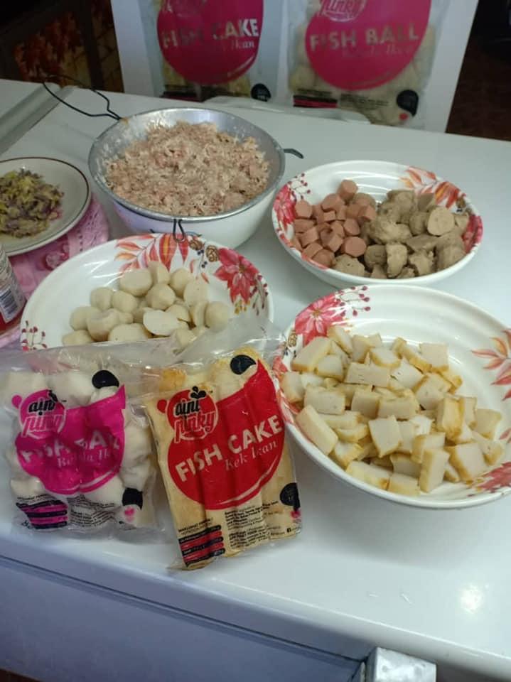 Pelbagai Masakan Fish Cake AIni Pinky Food