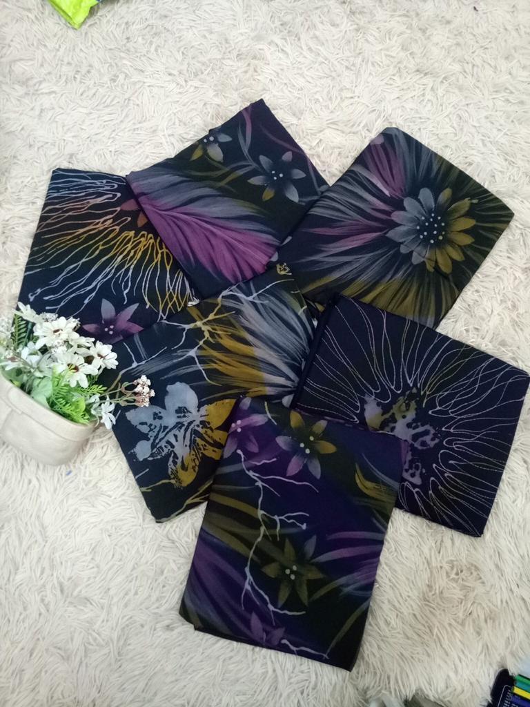 Koleksi terbaru Pengusaha Batik Lukis Kelantan