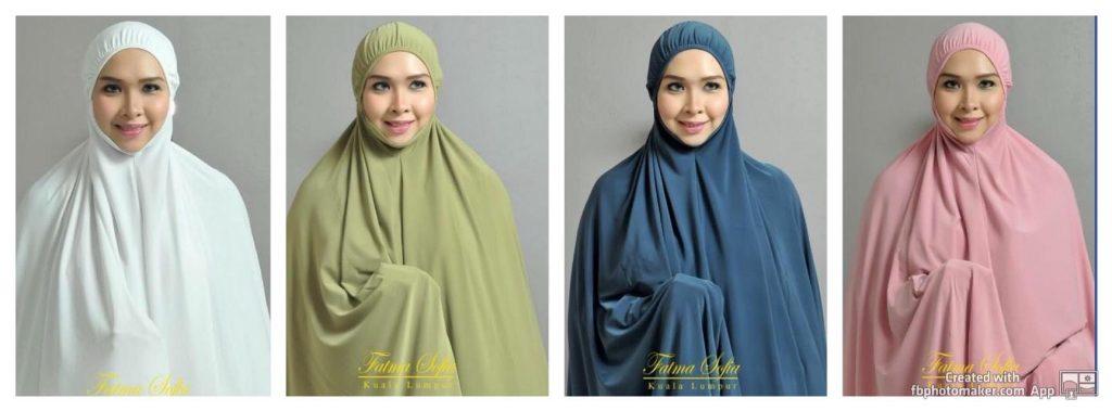 Koleksi Telekung Butik Muslimah Fatma Sofea