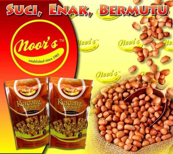 Door gift kacang potong