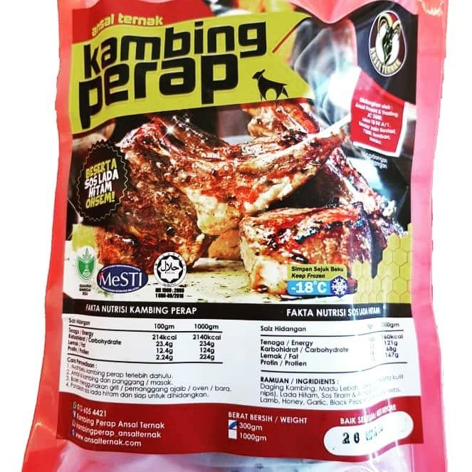 Packaging Kambing Perap Ansal Ternak