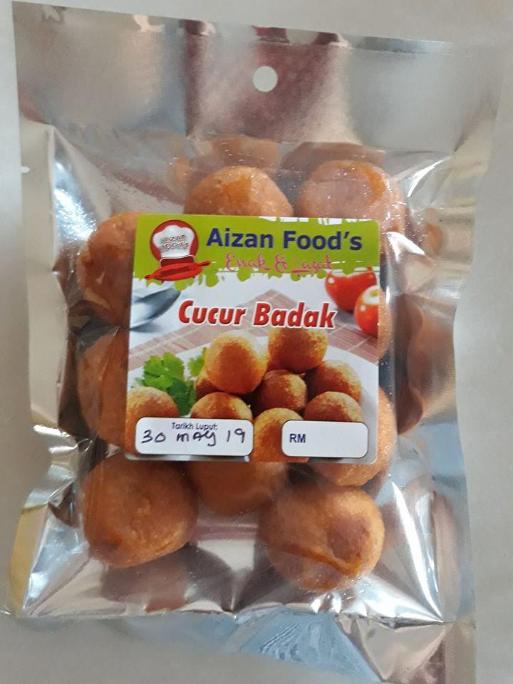 Kuih frozen Aizan Food Cucur Badak