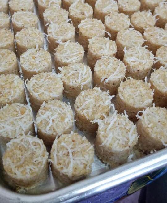 Resepi biskut kelapa lagend dibakar salam oven