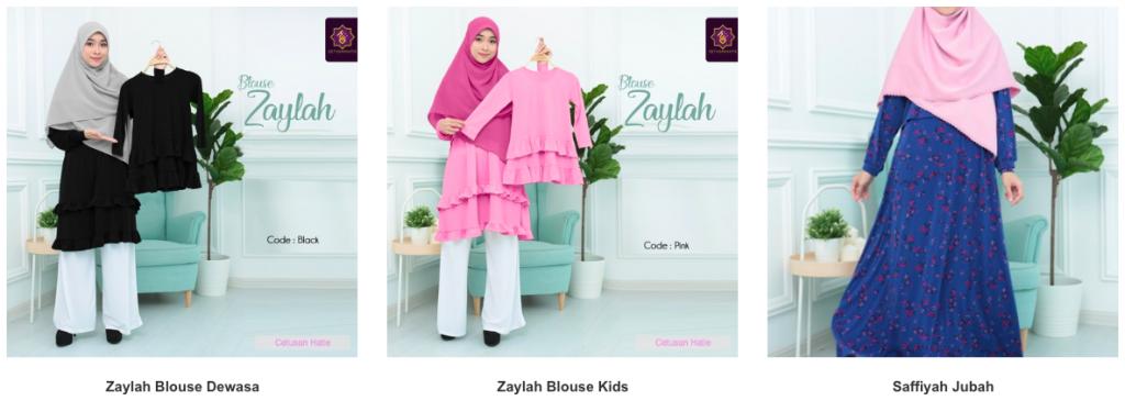 Tips Memilih Pakaian Muslimah Koleksi Blouse