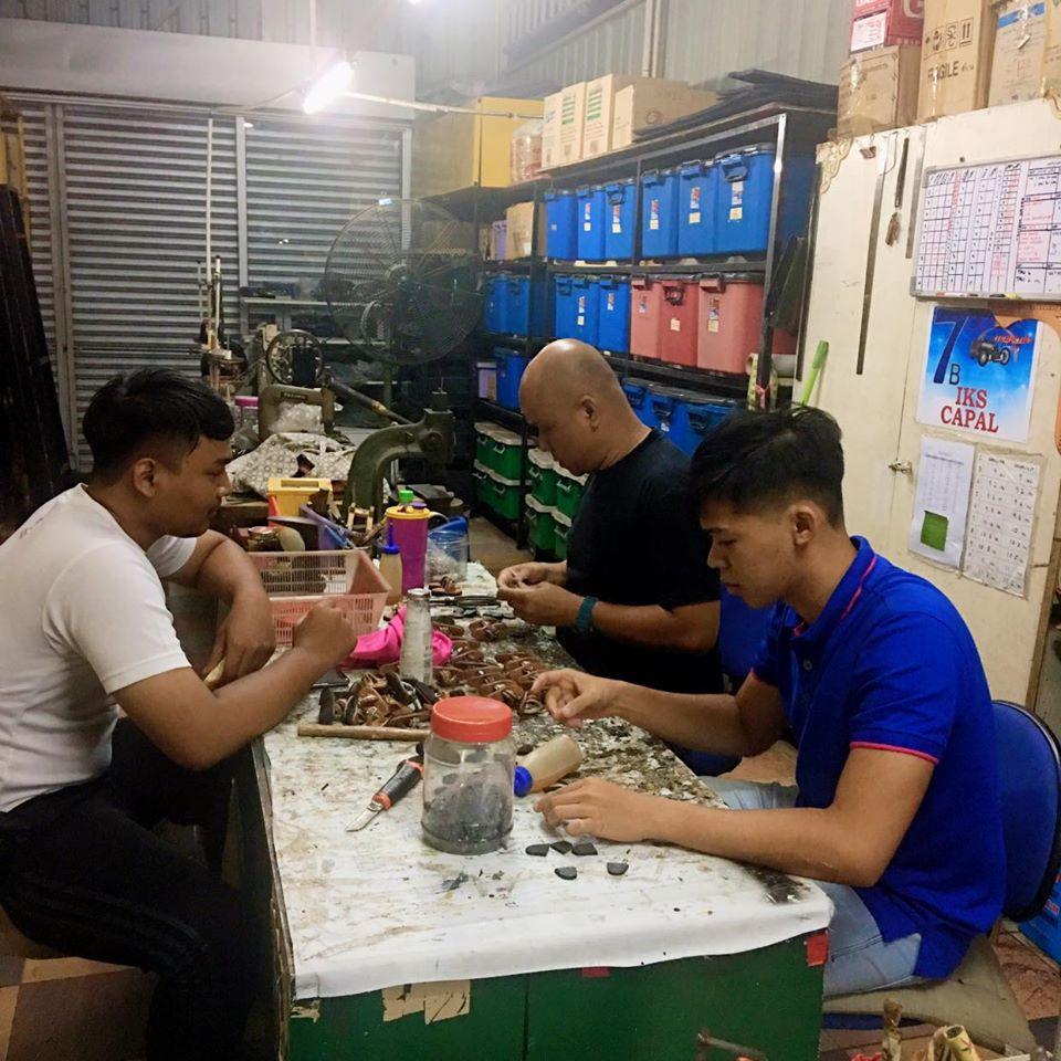 Kedai capal handmade Johor dibuat secara handmade