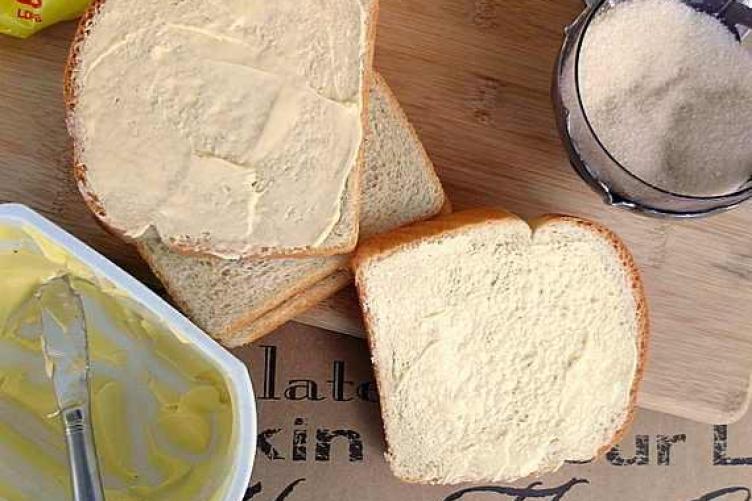 Resepi Roti Kering Homemade menggunakan bahan-bahan simple