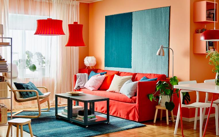 Tips Menghias Ruang Tamu guna hiasan dan lampu yang sesuai